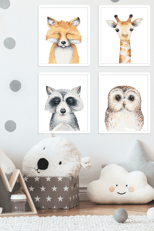 Free Printable Nursery Animal Designs