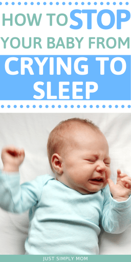 Is your baby crying to sleep? Here are some causes or reasons and the solutions that can help them sleep through the night in no time.