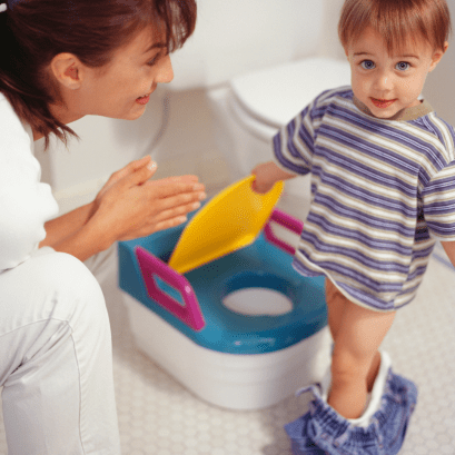 Once you have determined your son is actually ready to begin, it's time to focus on strategy. Here are a few tips and tricks for potty training that ACTUALLY work.