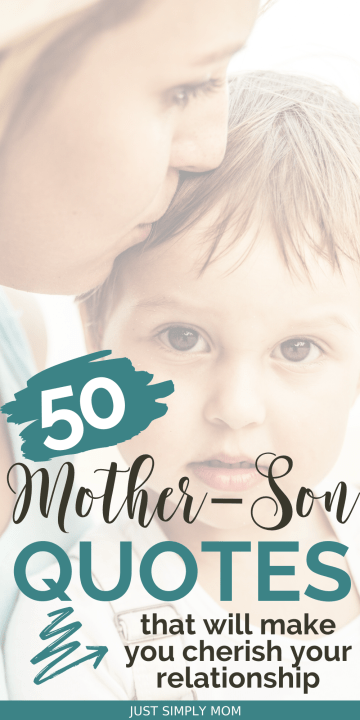 Mothers play such an important role in the life of their sons. There is a deep connection between a mother and her son that starts from the moment of conception.