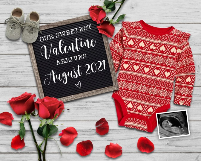 Having a baby soon and ready to make your Valentine's Day pregnancy announcement? Here are some beautiful & unique ideas for your baby reveal.