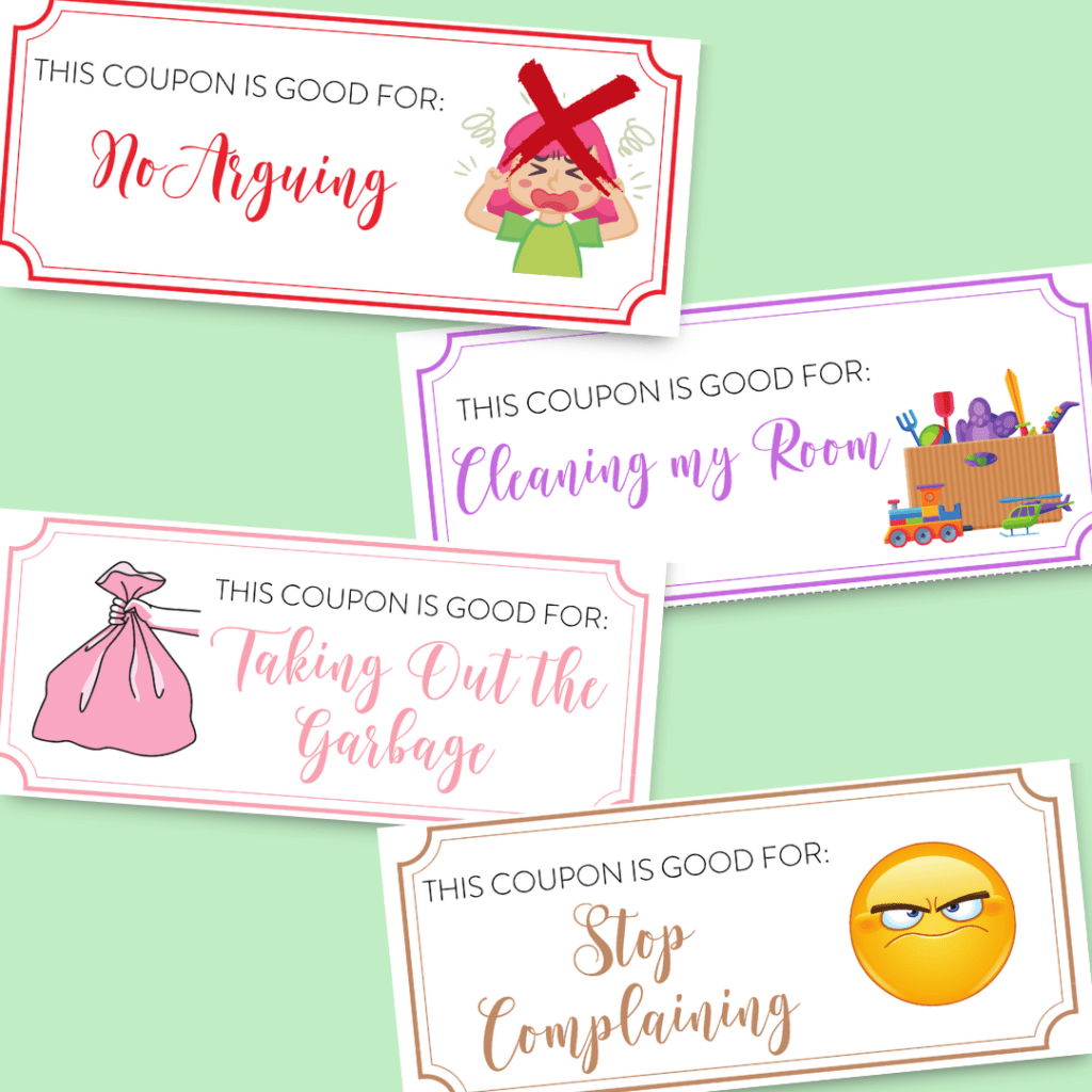 These DIY Mother's Day coupons make it so easy for you to show the mom in your life just how much you care.