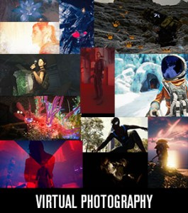 Virtual photography work
