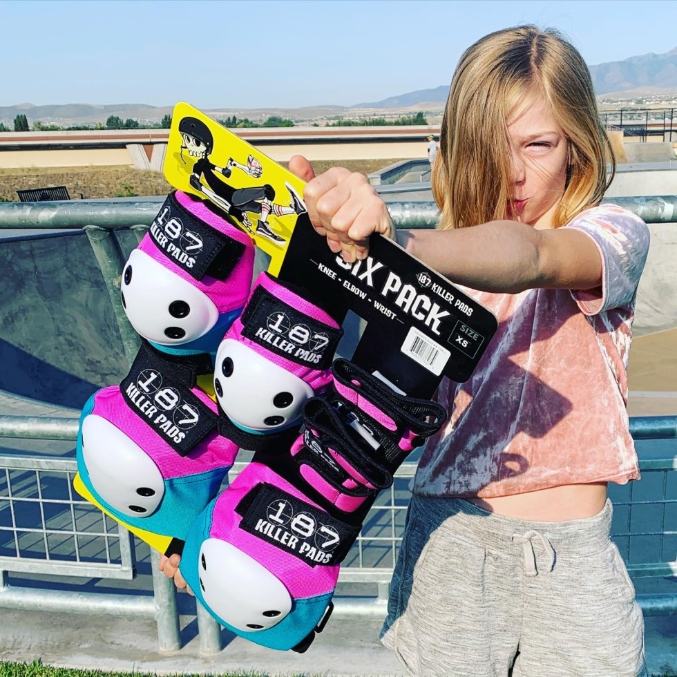 This is an image of co-founder of just skate pads
