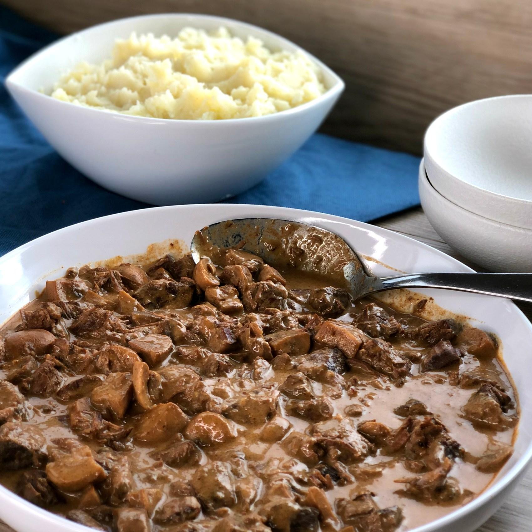 Delicious Homemade Beef Stroganoff