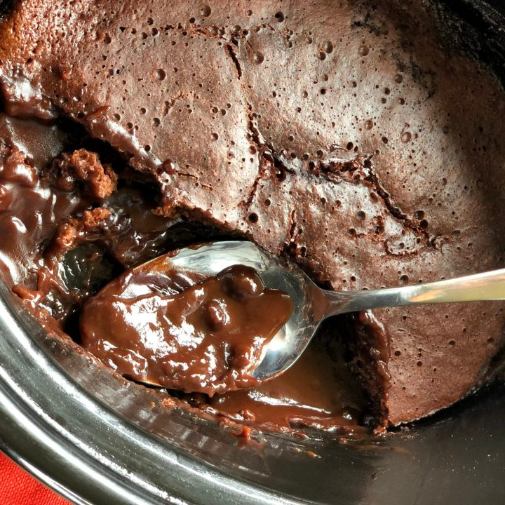 Slow Cooker Chocolate Self-Saucing Pudding