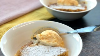 Slow Cooker Butterscotch Self Saucing Pudding