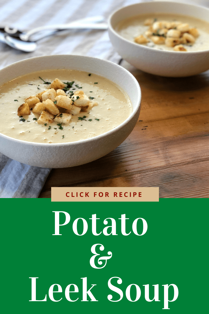 Delicious creamy potato and leek soup. Easy recipe made in the slow cooker, packed full of flavour, The best recipe.