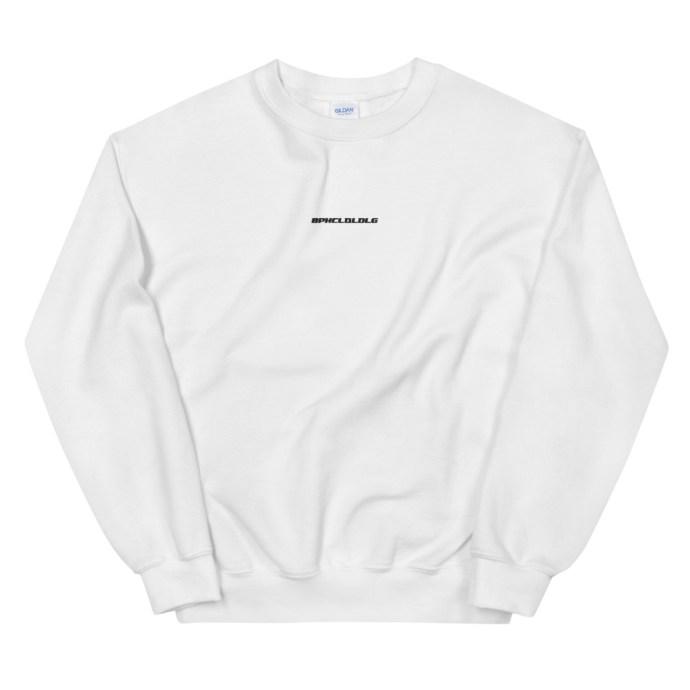 BPHCLQLDLG - Benito Bad Bunny Unisex Crew Neck Sweatshirt white