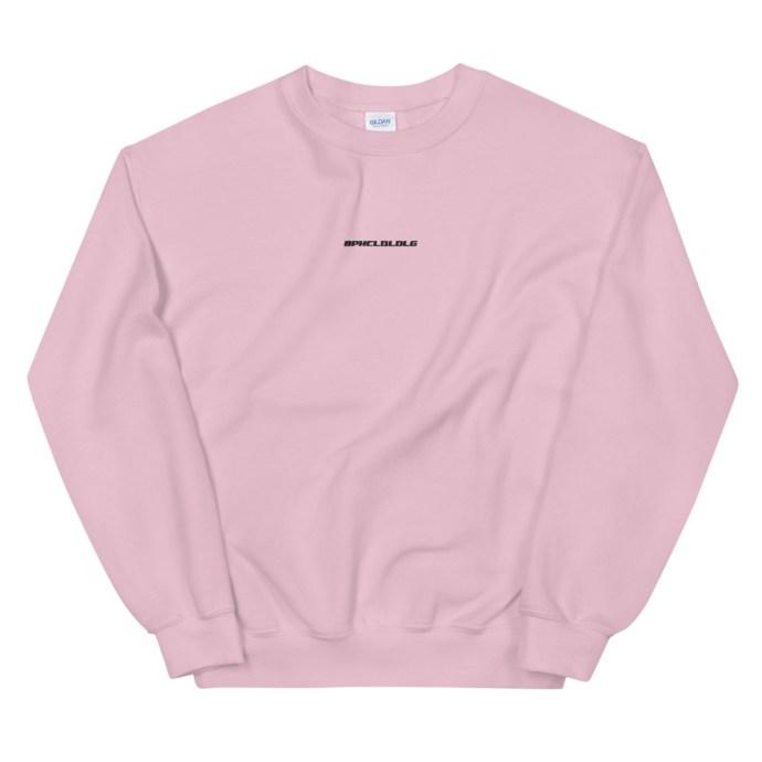 BPHCLQLDLG - Benito Bad Bunny Unisex Crew Neck Sweatshirt - Light Pink