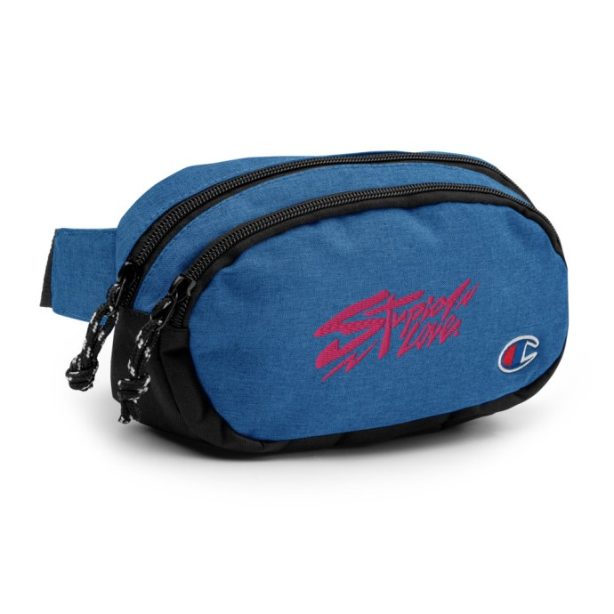 blue-stupid-love-fannypack-front.jpg