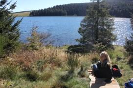 Picnic at Lac de Guéry