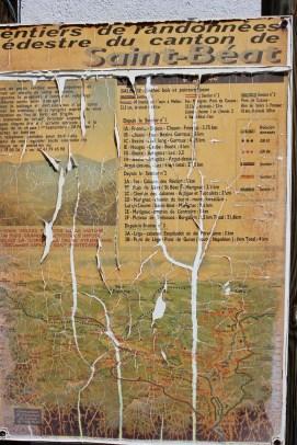 Hiking map, Argut-Dessous