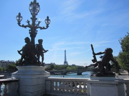 Eiffel Tower from Pont Alexandre III