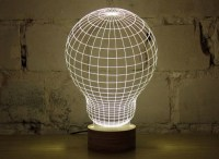 This optical illusion lamp incredibly challenges your mind ...