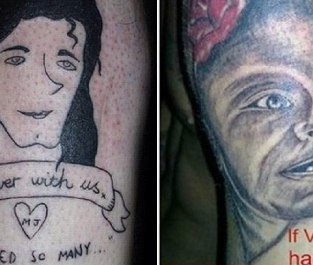 The  Most Hilarious Portrait Tattoo Fails Ever  Made My Spine Tingle Lol