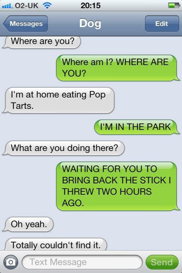 the 35 funniest text