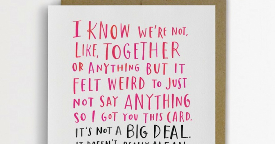 Funny And Awkward Greeting Cards By Emily McDowell Telling