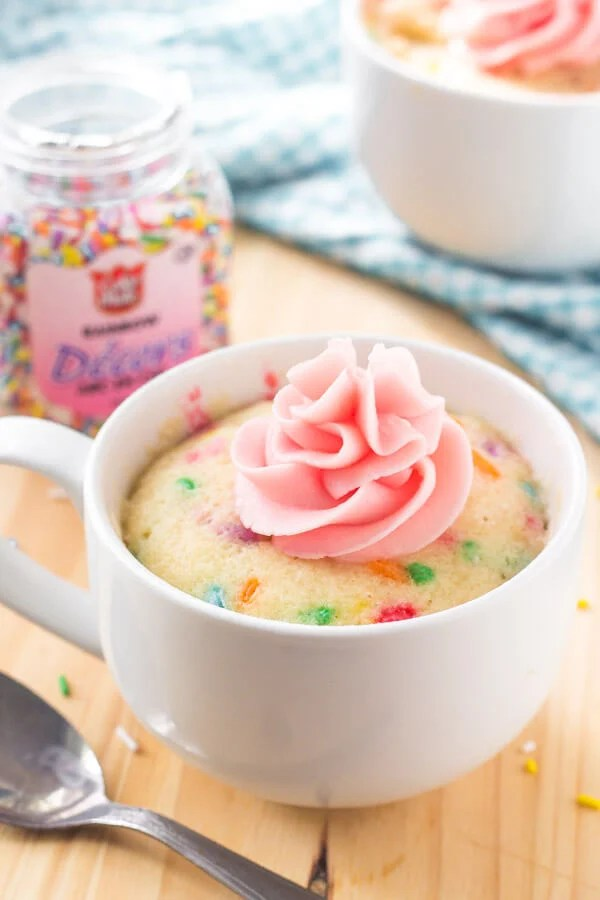Vanilla Mug Cake Without Baking Powder : vanilla, without, baking, powder, Vanilla, Moist,, Flavorful, That's, Ready, Minutes