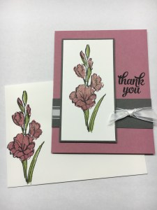 Stampin Up GIft of Love Thank You card idea - Jeanie Stark StampinUp
