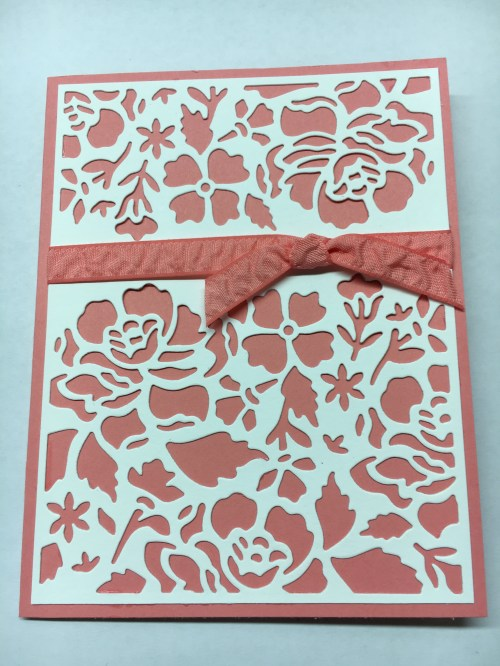 Stampin Up Detailed Floral Thinlits card idea - Jeanie Stark StampinUp