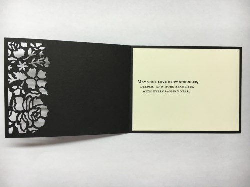 Detailed Floral Thinlits anniversary card idea - Jeanie Stark StampinUp