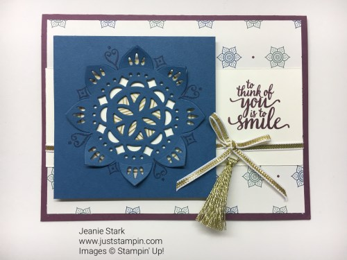Stampin Up Eastern Palace Suite all occasion card idea - Jeanie Stark StampinUp