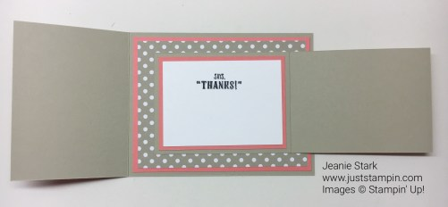 Stampin Up This Little Piggy fun fold card idea - Jeanie Stark StampinUp