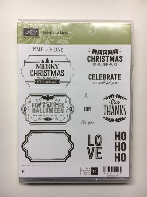 Labels to Love Stamp set