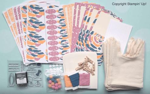 paper pumpkin march 21017 kit contents