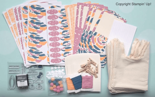 paper pumpkin march 21017 kit contents