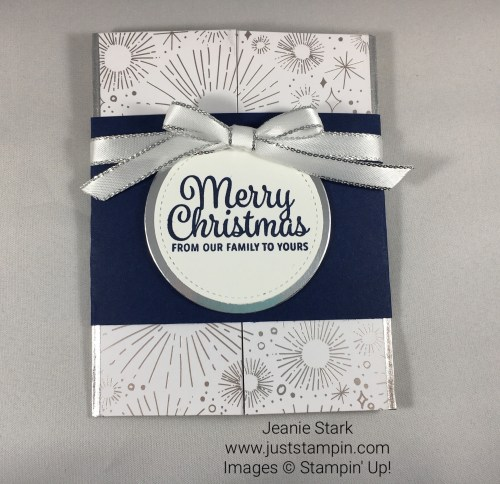 Stampin Up Snowflake Sentiments Christmas card idea - Jeanie Stark StampinUp