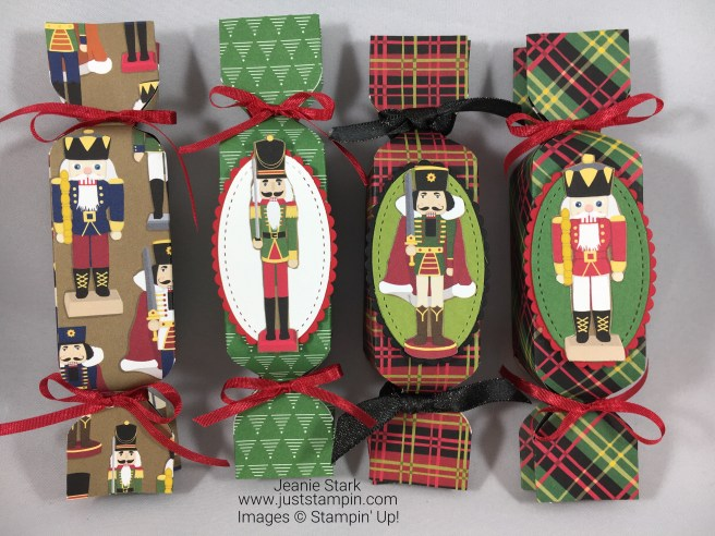 Stampin Up Christmas Around the World nutcracker treat holder idea - Jeanie Stark StampinUp