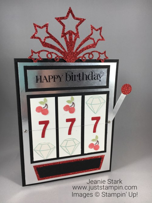 Stampin Up birthday card idea - Jeanie Stark StampinUp