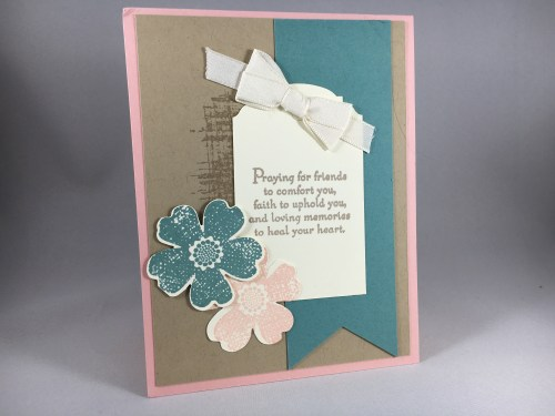 Stampin Up Sympathy card idea