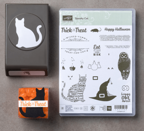 Stampin Up Spooky Cat Bundle. For inspiration and ordering visit www.juststampin.com