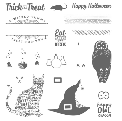 Spooky Cat Stamp Set by Stampin Up. FOr inspiration and ordering visit www.juststampin.com