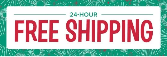 Free shipping 24 hour