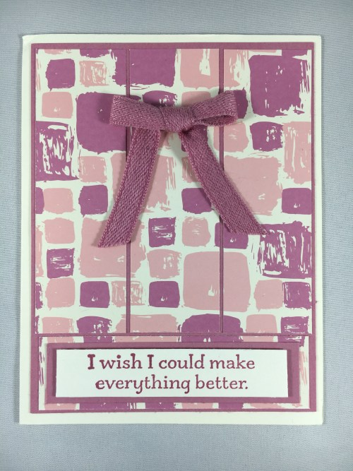 Stampin Up Get Well Card idea - For inspiration, project details, ordering Stampin' Up! products and more, visit www.juststampin.com Jeanie Stark StampinUp