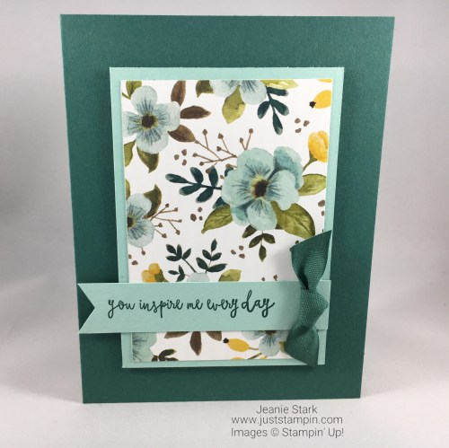 Stampin Up Ya You inspirational all occasion card idea - Jeanie Stark StampinUp