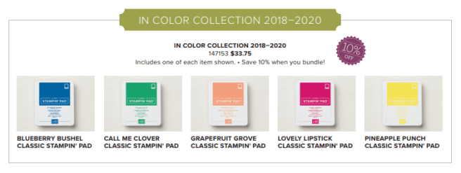 In Color Classic Ink Bundle