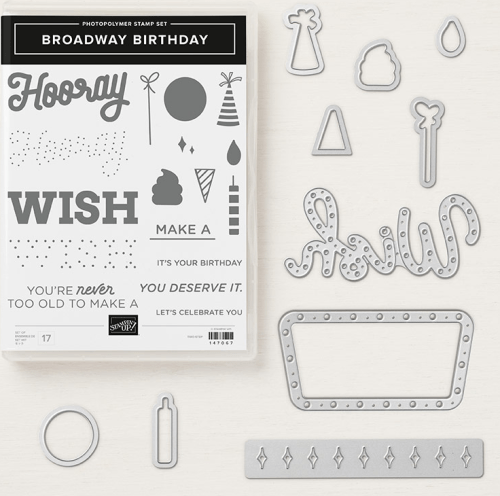Stampin Up Broadway Bound Bundle - Jeanie Stark StampinUp