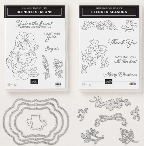 Stampin Up Blended Seasons Bundle - Jeanie Stark StampinUp