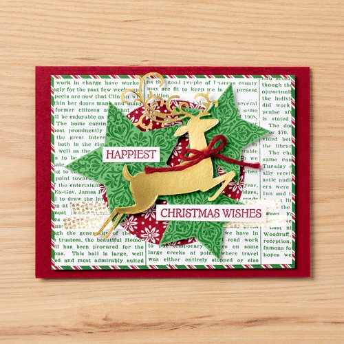 Stampin Up Dashing Along Exclusive Designer Series Paper project idea - visit www.juststampin.com for ordering and inspiration. Jeanie Stark StampinUp