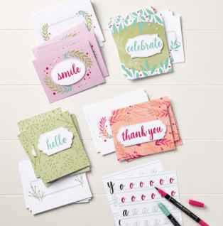 Card Kit Calligraphy Essentials
