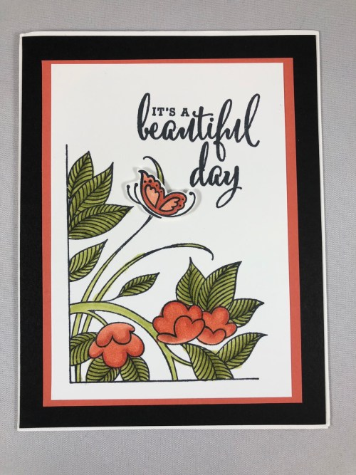 Stampin Up Serene Garden all occasion card idea - Jeanie Stark StampinUp