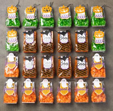 Frights & Delights Paper Pumpkin kit samples