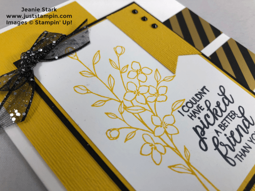 Stampin Up Touches of Texture and Subtle embossed card idea for a friend- Jeanie Stark StampinUp