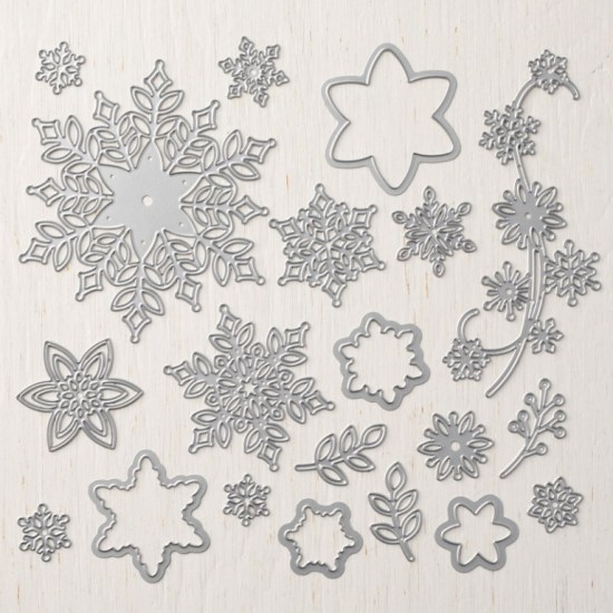 Stampin Up Limited Edition Snowflake Thinlits Dies - Jeanie Stark StampinUp