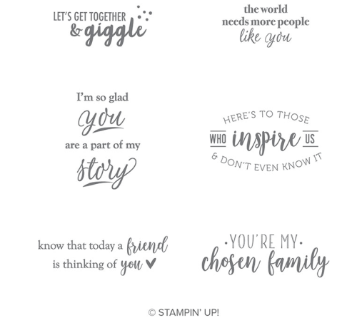 Stampin Up Part of My Story Stamp Set - Earn it for FREE during Sale-A-Bration - Jeanie Stark StampinUp